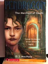Load image into Gallery viewer, The Merchant of Death  by D.J. MacHale  (Pendragon #1)