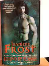 Load image into Gallery viewer, Bound by Flames   by Jeaniene Frost       (Night Prince #3)