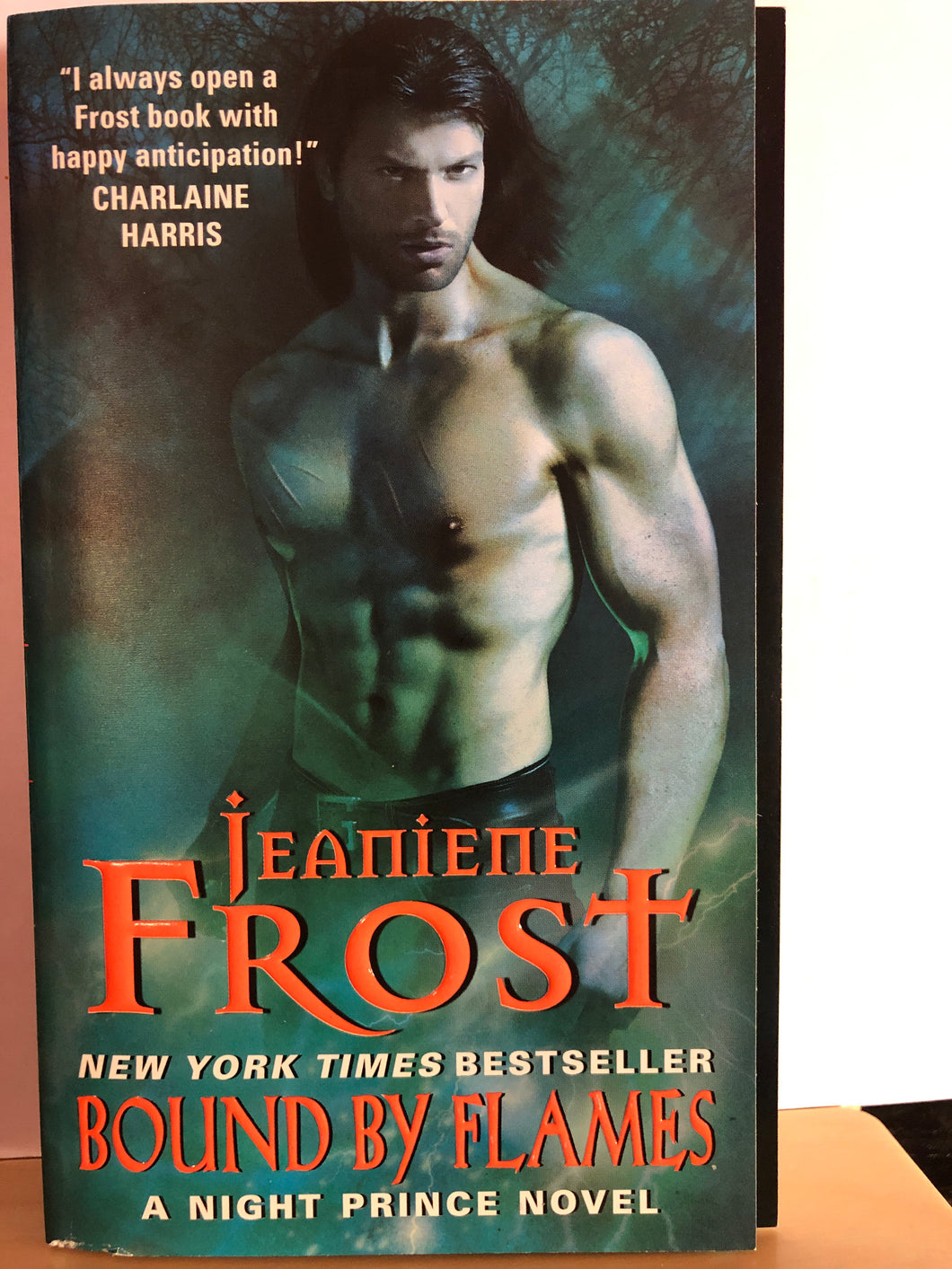 Bound by Flames   by Jeaniene Frost       (Night Prince #3)
