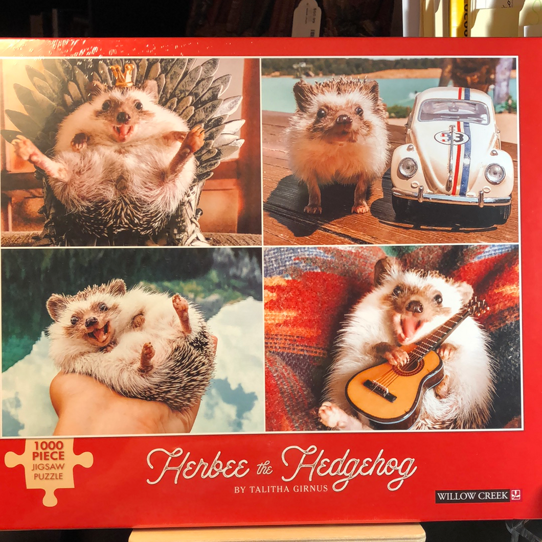 Herbee the Hedgehog  1000 piece puzzle      New puzzle