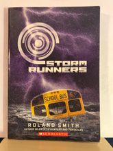Load image into Gallery viewer, Storm Runners   by Roland Smith   (Storm Runners #1)    used paperback