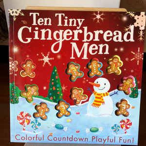 Ten Tiny Gingerbread Men   by Tiger Tales    Counting Book