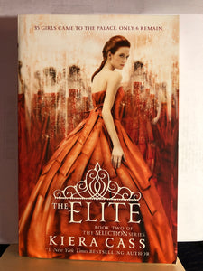 The Elite  by Kiera Cass  (The Selection #2)