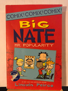 Big Nate: Mr. Popularity   by Lincoln Peirce    (Big Nate #4)  paperback