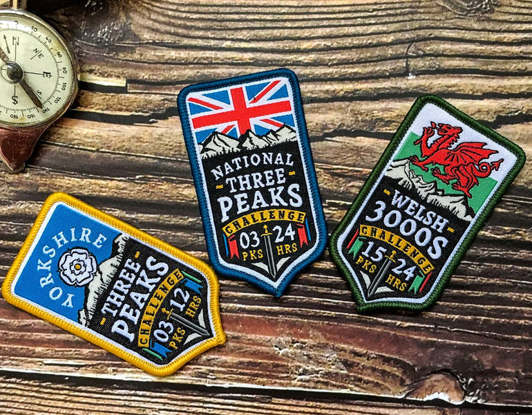 The Adventure Patch Company launches new range of classic UK Mountain Challenge Patches