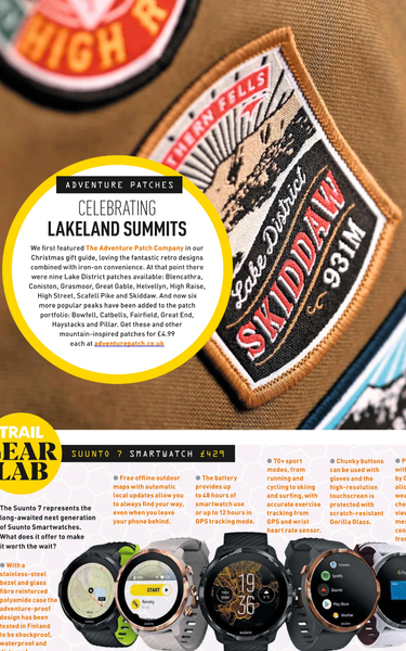 Celebrating Lakeland Summits - Trail Magazine Spring 2020!