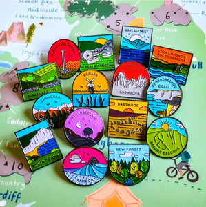 Snowdonia National Park Pin