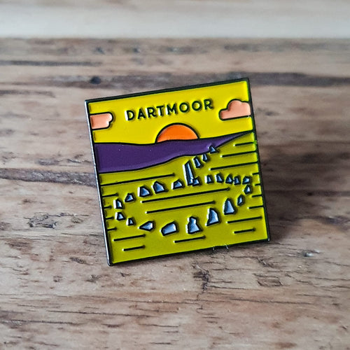 Dartmoor National Park Pin