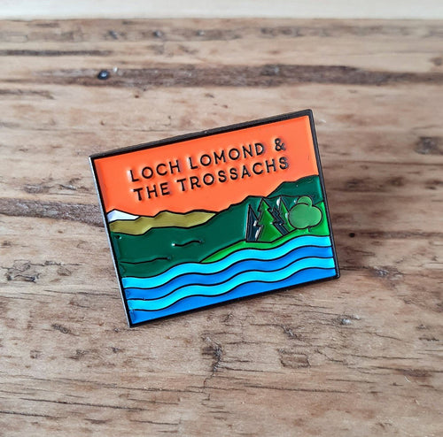 Loch Lomond & The Trossachs National Park Pin