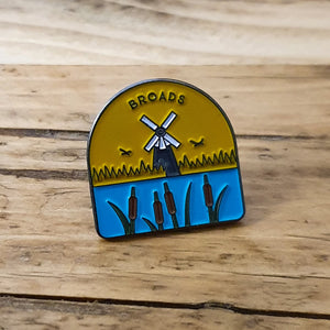 Broads National Park Pin