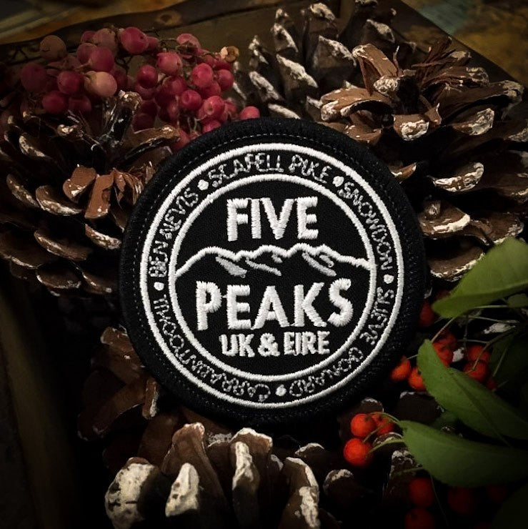 UK & EIRE Five Peaks patch