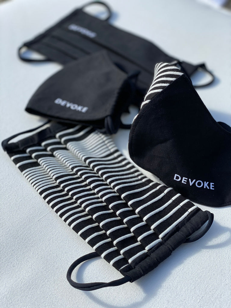 Devoke Fashion Mask Straight is adjustable to size and comes in different colors to combine with your daily look.