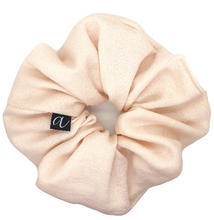 Load image into Gallery viewer, Cream Dinner Scrunchie