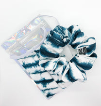 Load image into Gallery viewer, Tie Dye Scrunchie & Mask Set