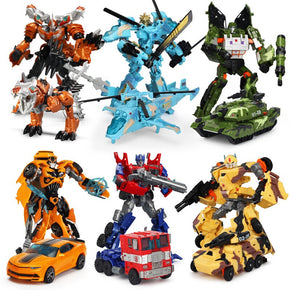 19cm Transformation Car Robot  Dinosaur Deformation Tobot Toy Optimus Action Figures Gifts Model Children Super Hero