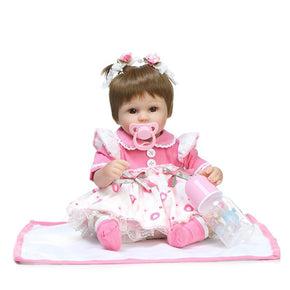 NPK Emulate Reborn Baby Doll Cute Stuffed Toy for Kids