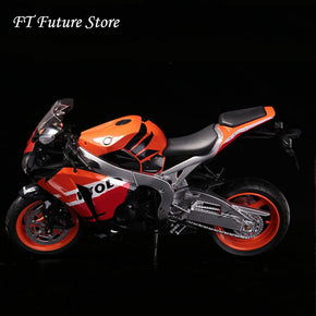 Collectible In Stock Alloy Diecast Motorcycle Motorbike Sports Car Soldier Scene Accessories Model for 12 inches Action Figure