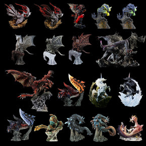 Japan Game Monster Hunter World Iceborne Figure PVC Models Hot Dragon Action Figure Decoration Toy Monsters Model Collection