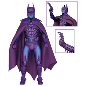 NECA Batman Action Figure Classic Video Game Appearance Batman With Taser Toy 17.5cm