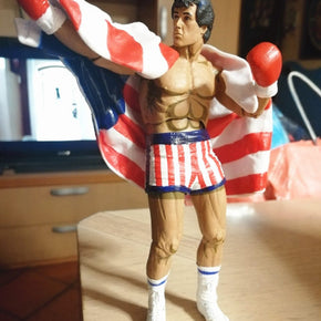 [Top] 7 inches Rocky Sylvester Stallone Classic Video Games Appearance 1987 Figure Collection Model kids adult gift