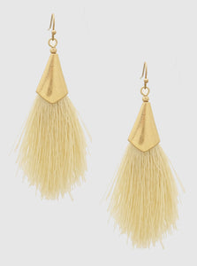 Vanilla Drop Earrings