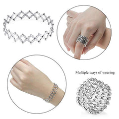 【Creative new products】Creative S925 Silver Ring, Bracelet And Puzzle Jewelry Box