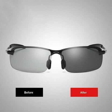 Brainart™   Photochromic Sunglasses with Polarized Lens