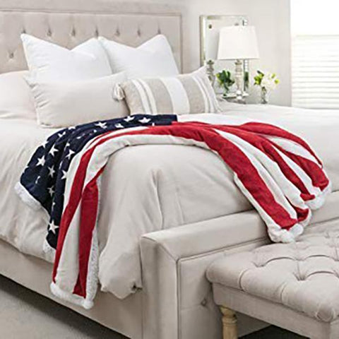 49% OFF Best Gift-American Flag Blanket Free Shipping