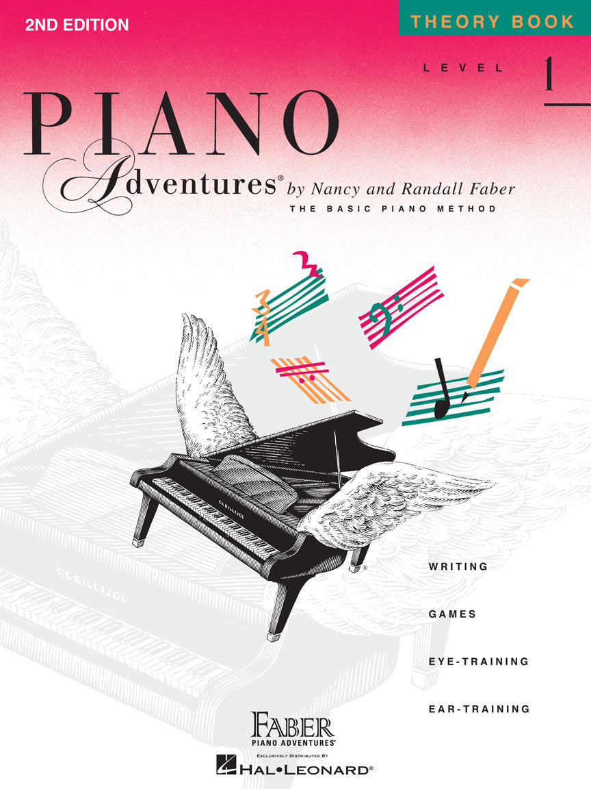 Faber Piano Adventures Theory Book Level 1