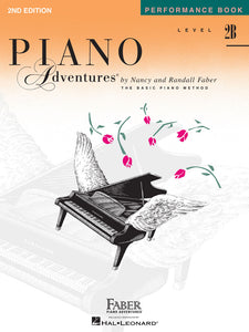 Faber Piano Adventures Performance Book Level 2B