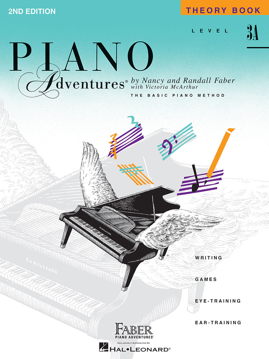 Faber Piano Adventures Theory Book Level 3A