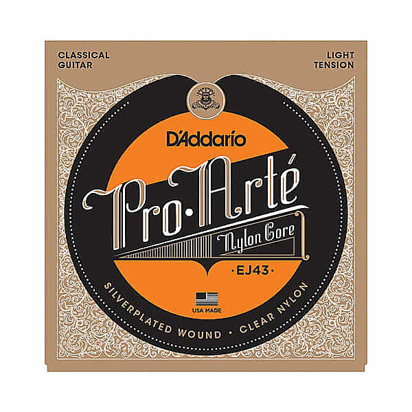 D'addario EJ43 Pro-Arte Light Nylon Guitar Strings