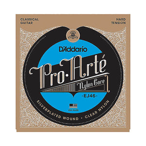 D'addario EJ46 Pro-Arte Hard Nylon Guitar Strings