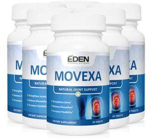 MOVEXA : 100% NATURAL JOINT SUPPORT SUPPLEMENT