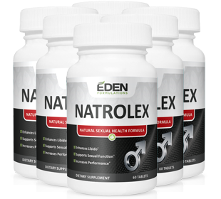 NATROLEX : 100% Natural Testosterone Boosting Formula