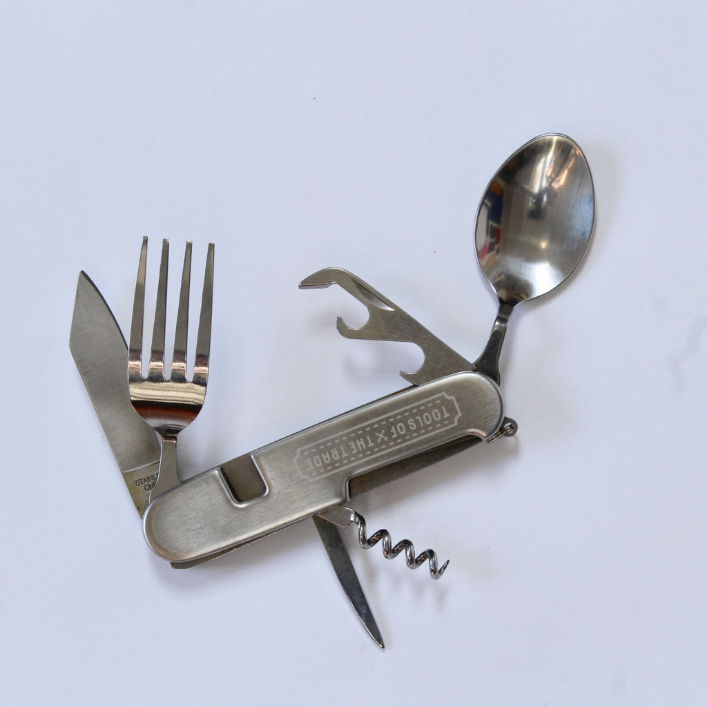 Pocket cutlery set men's gift hardware store metal jpg