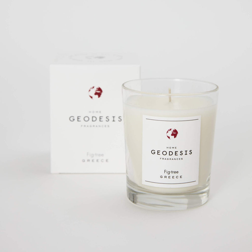 Geodesis Fig scented candle glass jar fig tree 180g french jpg