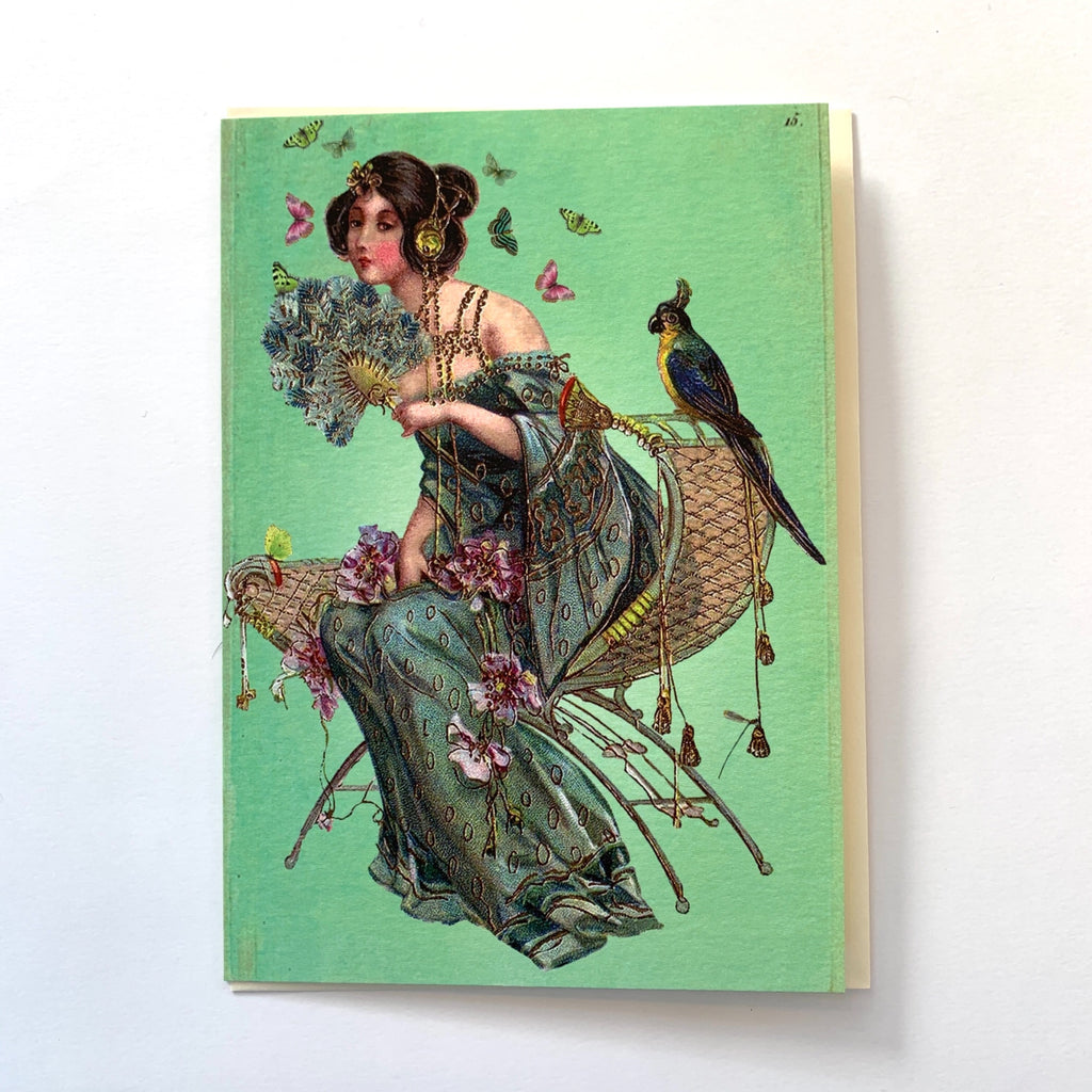 Seated lady greeting card .jpg