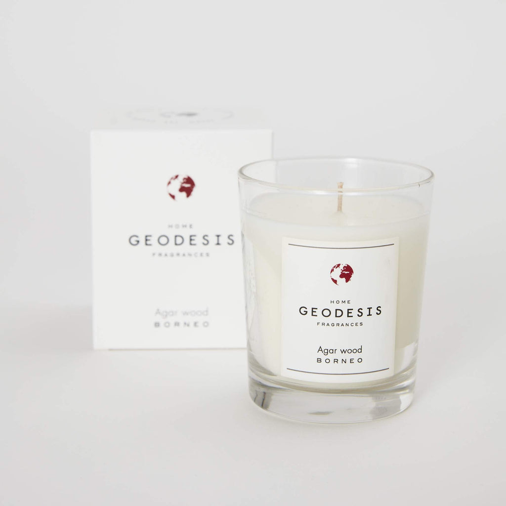 Geodesis scented candle 180g agar wood fig tuberose black tea jpg