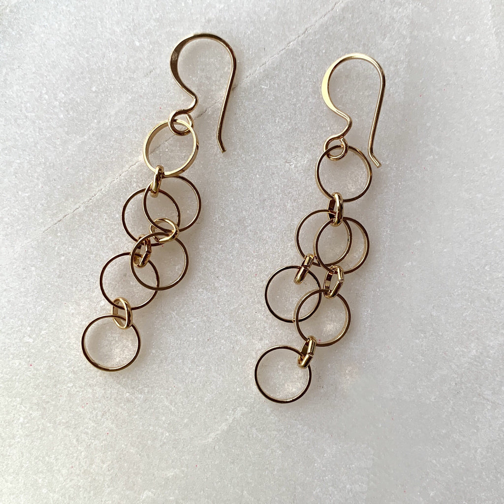 Gold Plated Circles Earrings .jpg