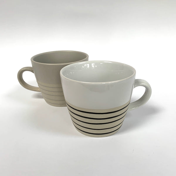 Canvas home ceramic striped mug .jpg