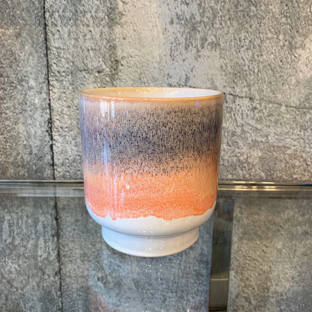 ombre planter peach grey plant pot ceramic .jpg