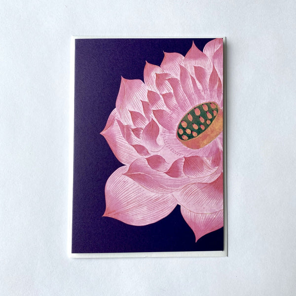 Pink Lotus Flower Greeting Card.jpg