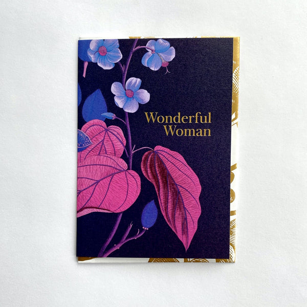 Wonderful Woman Floral Greeting Card .jpg