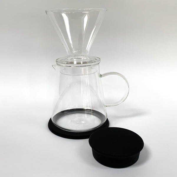 Coffee maker set glass and rubber makers and merchants .jpg