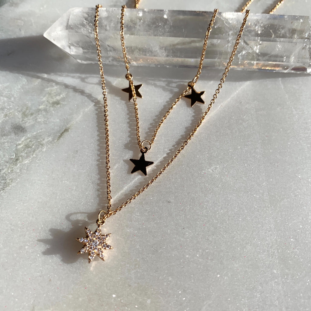 Double Chain Star Necklace .jpg