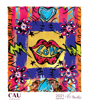 Collab Vic Meirelles - Ecobag Love