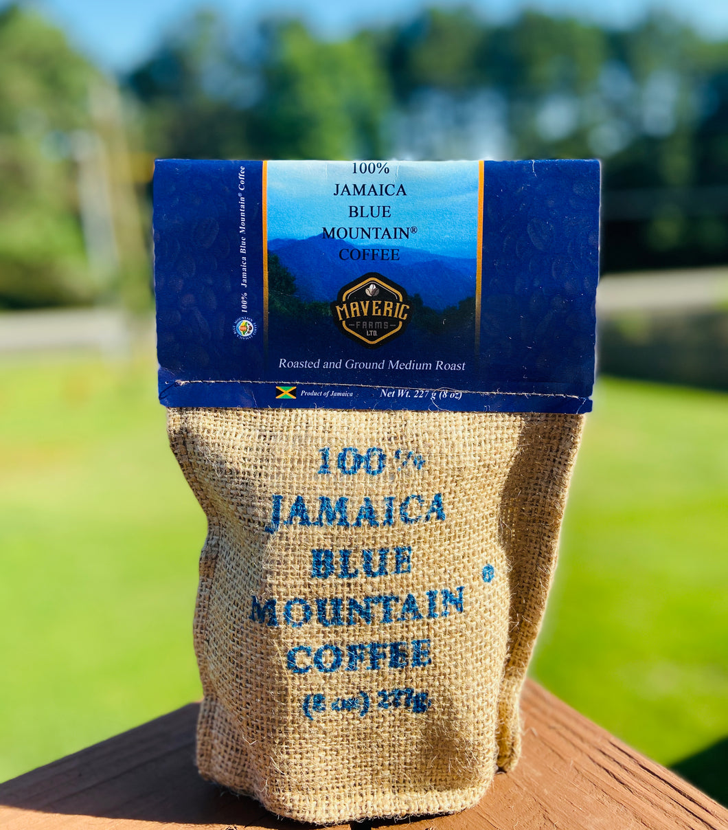 Jamaica Blue Mountain Coffee (8oz)