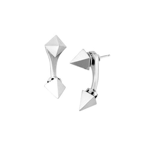 PYRAMID SPIKE TUNNEL EARRINGS by King Baby - cottonjunkies