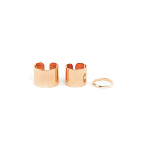 WANDERLUST TRIO STACK RINGS - cottonjunkies